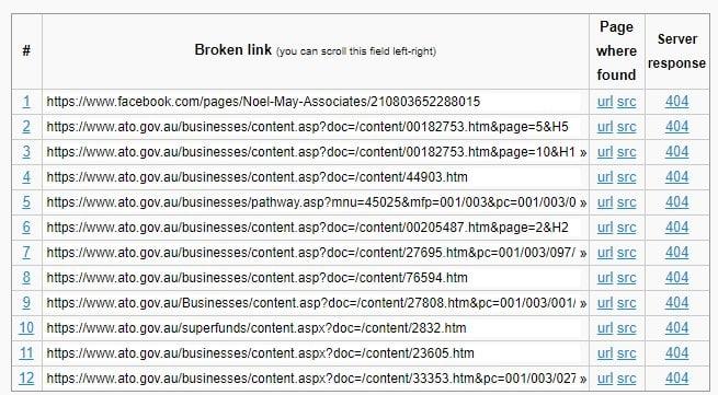 seo-broken-link-australia