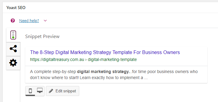 The 8-Step Digital Marketing Strategy Template 2019 For