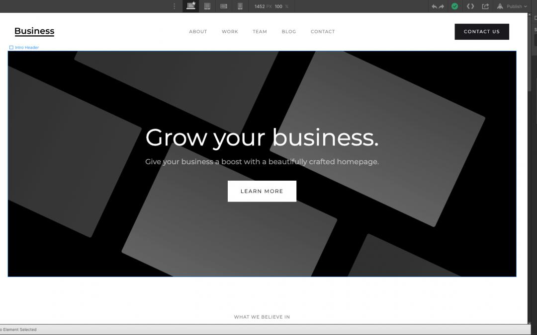 webflow search engine optimisation