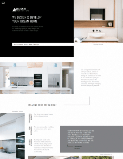 example architect website